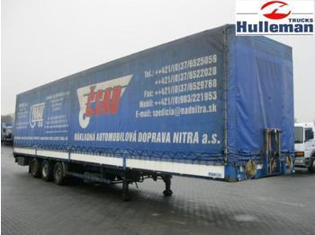DIV PANAV NV 35LPK PRITSCHE MIT PLANNE - curtainsider semi-trailer