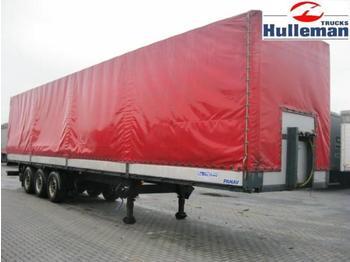 DIV PANAV NV 35 PK PRITSCHE MIT PLANNE - curtainsider semi-trailer