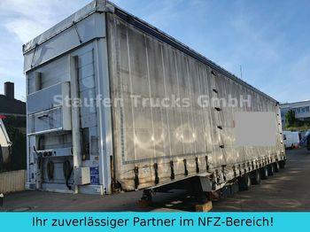 Curtainsider semi-trailer Dinkel DINKEL SPEZIAL-SANH 5 ACHS Schwerlast/ Masch.Tr
