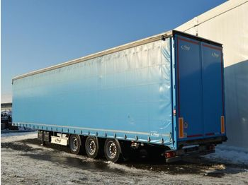 FLIEGL SDS 350 lowdeck - curtainsider semi-trailer