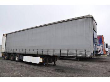 Curtainsider semi-trailer FRUEHAUF SC/SDX 136-TOP