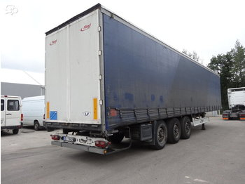 Fliegl SDS350 - curtainsider semi-trailer