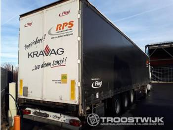 Fliegl  SDS 350  - curtainsider semi-trailer