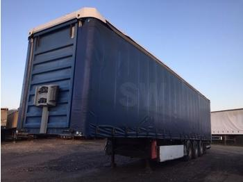 Curtainsider semi-trailer Fruehauf