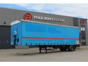 KEL-BERG City Curtain Trailer with Zepro Lift - curtainsider semi-trailer
