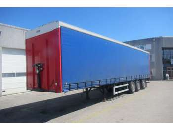 Kel-Berg Gardin med lift - curtainsider semi-trailer