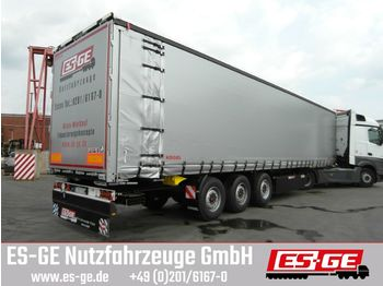 Curtainsider semi-trailer Kögel 3-Achs-Cargo-Coil-Pritschensattelanhänger