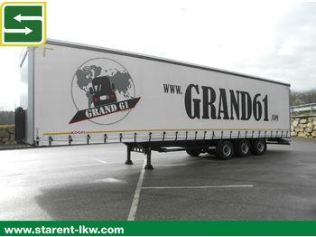Curtainsider semi-trailer Kögel Megatrailer, Hubdach, SAF, XL Zertifikat