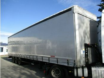Kögel S24-1 MEGA/lowdeck  - curtainsider semi-trailer