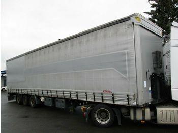 Kögel S24 MEGA/lowdeck  - curtainsider semi-trailer