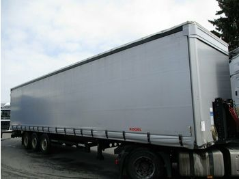 Curtainsider semi-trailer Kögel SN24