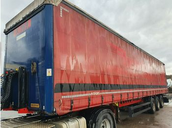 Curtainsider semi-trailer Kögel SN24 LIGHT Standard !TÜV NEU! Tautliner Gardine