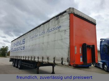 Kögel SN24 * TAUTLINER * LIFTACHSE *  - curtainsider semi-trailer