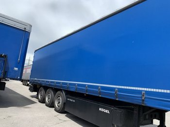 Curtainsider semi-trailer Kögel SN24 Tautliner,XL Zerti, Liftachse