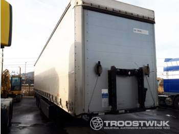 Kögel SN 24 COIL MULDE - curtainsider semi-trailer