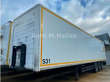 Kögel SP 24 Koffer / BPW / Liftachse / Rolltor  - curtainsider semi-trailer