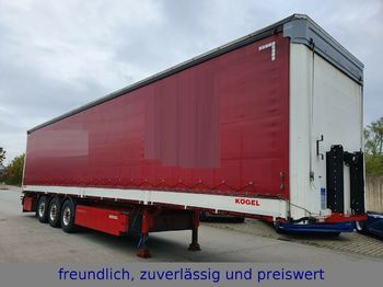Kögel * S 24-1 * 3  * PR.PL * EDSCHA DACH * BORDWAND *  - curtainsider semi-trailer