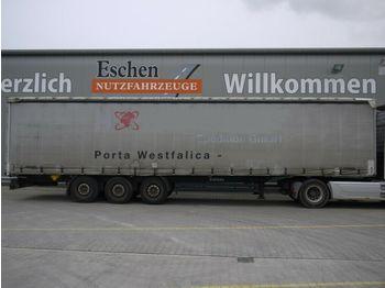 Curtainsider semi-trailer Kögel Schiebeplane, Edscha, Luft