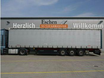 Curtainsider semi-trailer Kögel Schiebeplane, Edscha, Palettenkasten, BPW
