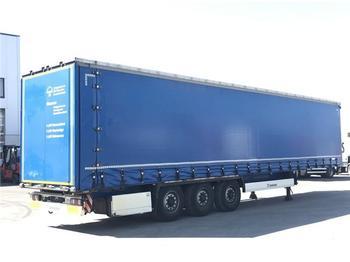 Curtainsider semi-trailer  Krone - 3 ACHS AUFLIEGER SD SCHIEBEPLANE