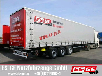 Curtainsider semi-trailer Krone 3-Achs-Sattelanhänger - Edscha - Coil