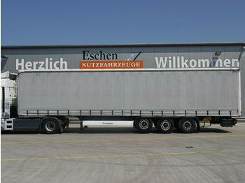 Curtainsider semi-trailer Krone 3 Achs Schiebeplane, Edscha, Luft/Lift, BPW
