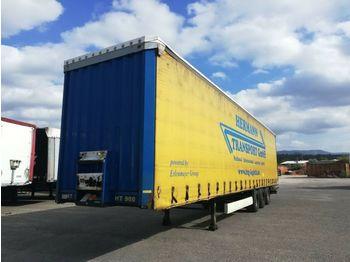 Curtainsider semi-trailer Krone 3 X Mega TAUTLINER HUBDACH  Verbreit. 3 m!!  XL