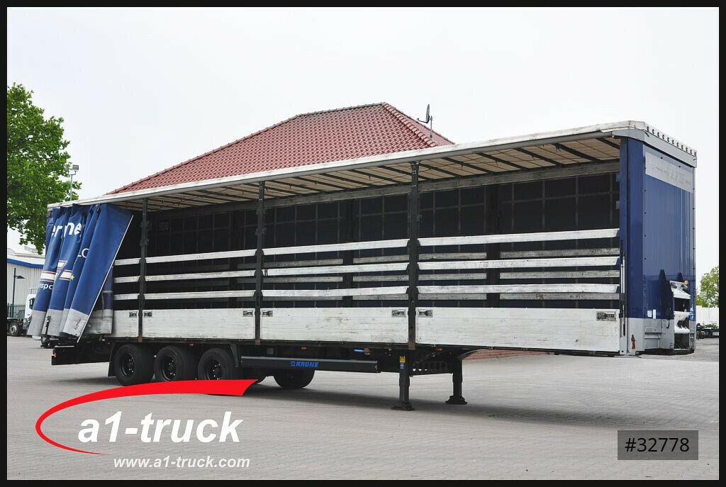 Curtainsider semi-trailer Krone SDP 27, Mega, Code XL, Bordwand, - Truck1  ID: 3772125