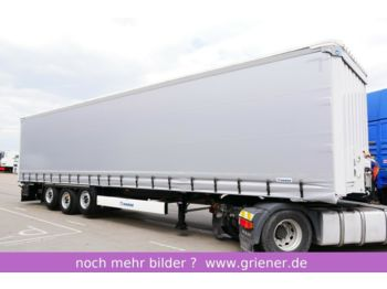 Krone SDP 27 eLB4_CS /2 x LIFT LASI 12642 XL BPW  - curtainsider semi-trailer