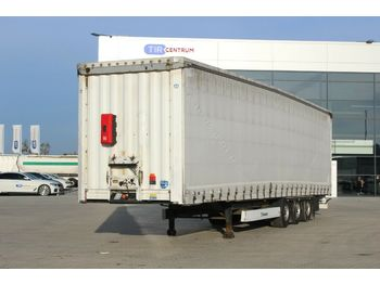 Krone SD 04 ELG3-CS,LOWDECK, LIFTING AXLE,LIFTING ROOF  - curtainsider semi-trailer