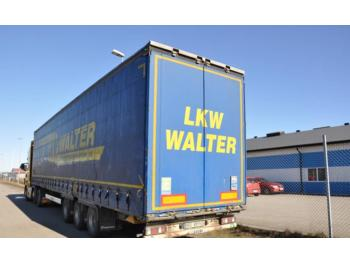 Krone SD -11  - curtainsider semi-trailer