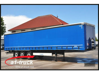 Curtainsider semi-trailer Krone SD 27 eLCL10-CS ultra, Coilmulde, Liftachse, Alu