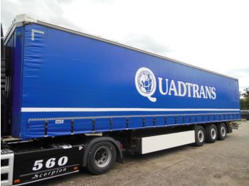 Krone SD, COIL MULDE 8850 MM, SAF, XL  - curtainsider semi-trailer