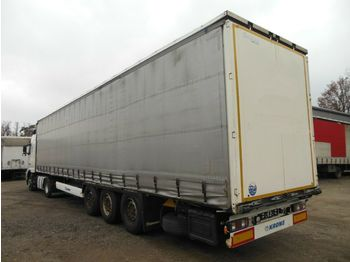 Curtainsider semi-trailer Krone SD, LIFT ACHSE, SAF