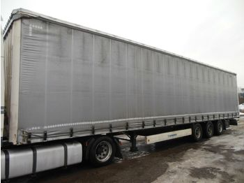 Curtainsider semi-trailer Krone SD, LOWDECK,LIFT ACHSE