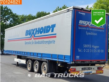 Curtainsider semi-trailer Krone SD Lift- / Steering Axle BPW Edscha