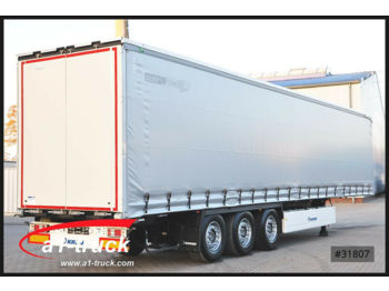 Curtainsider semi-trailer Krone SD NEU, Garantie Lift, PK, Alulatten: picture 1