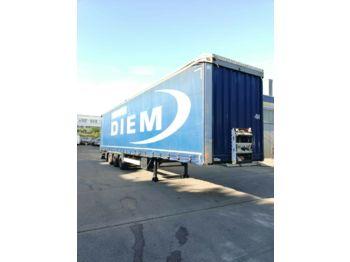 Curtainsider semi-trailer Krone  SD P MEGA  Tautliner Edscha Liftachse