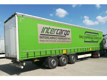 Curtainsider semi-trailer Krone SD RailCargo