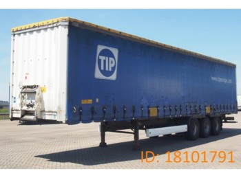 Krone Tautliner SD27 - curtainsider semi-trailer