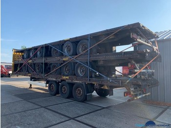 Curtainsider semi-trailer Krone flatbed 5-stack
