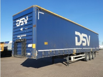 LAG 0-3-GC-A5 edscha doors huckepa - curtainsider semi-trailer