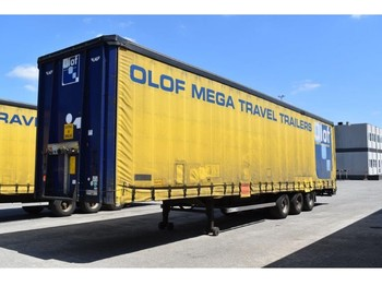 LAG 0-3-GT 01Mega - curtainsider semi-trailer