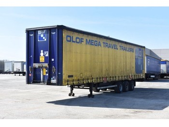 LAG O-3-GT 50 Mega - curtainsider semi-trailer