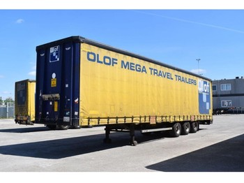 LAG Q-3-GT 50 Mega - curtainsider semi-trailer