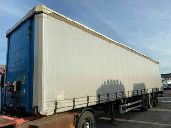 LeciTrailer 3 AS + SCHUIFDAK + LAADKLEP  - curtainsider semi-trailer