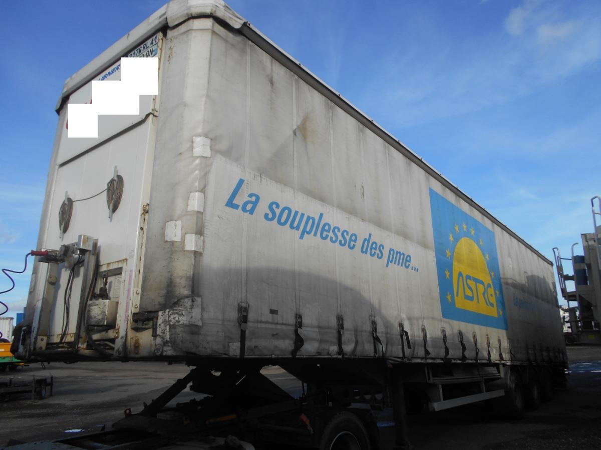curtainsider semi-trailer Lecitrailer