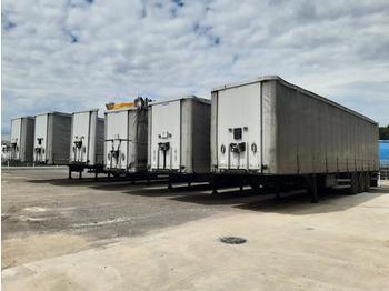 Curtainsider semi-trailer Lecitrailer CONVERTIBLE
