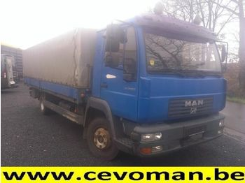 MAN LE 8.225 - curtainsider semi-trailer