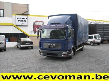 MAN TGL 7.150 Baché - curtainsider semi-trailer